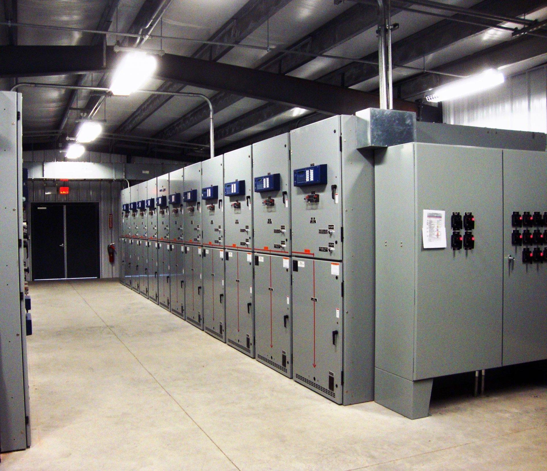 Praxair 115kv Substation