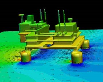 Off Shore Drilling Platform