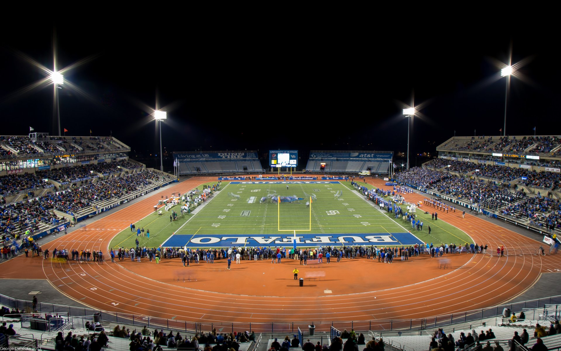 University at Buffalo - Stadium LIghting