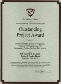 CSI Outstanding Project Award