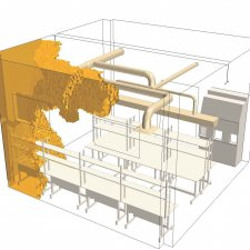 Binghamton University - Energy R&D Building CFD Studies