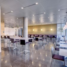 Syracuse University - Dineen Hall -  cafeteria
