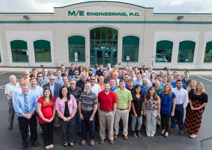 M/E Engineering's Rochester Office