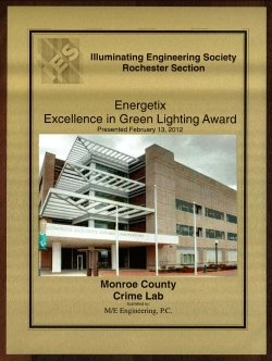 M/E Engineering awarded the 2011 Energetix Excellence in Green Lighting