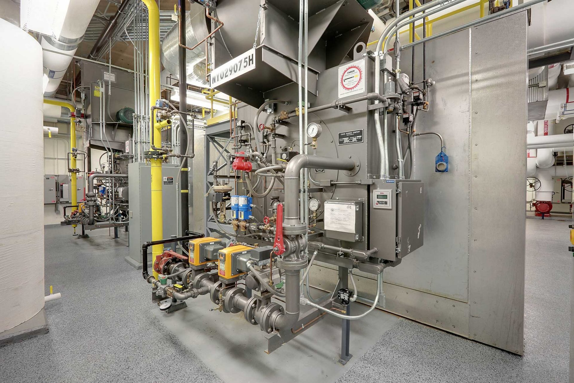 Engineering Forn Central Plants Central Chiller Boiler