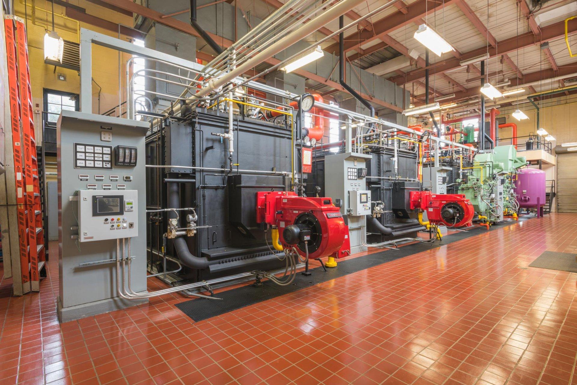 Alfred University - Boiler Burner Replacement
