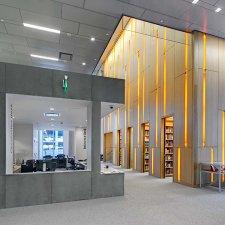Syracuse University - Dineen Hall - resource library