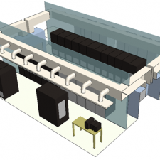 HealthNow - 40 Century Hill Drive - Data Center CFD Modeling